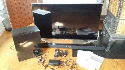 Samsung TV mit Soundbar
