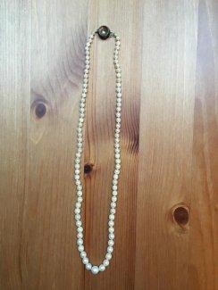 Perlenkette mit Echtperlen - Gratisinserat.ch