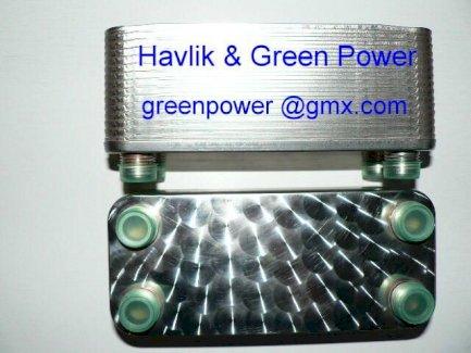 20er Platten Wärmetauscher- GREEN POWER - MODEL FHC014-20 / 57.- - Gratisinserat.ch