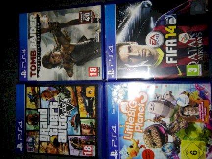 Verschiedene PS4 Games - Gratisinserat.ch