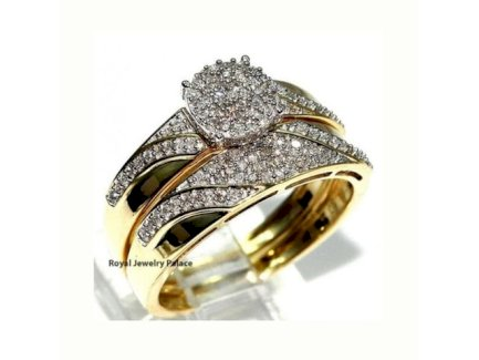 Exclusives 2er Damen Ring Set 925 Sterling Silber - Gratisinserat.ch