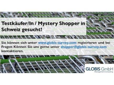 Testkäufer/In / Mystery Shopper in Grancia gesucht! - Gratisinserat.ch