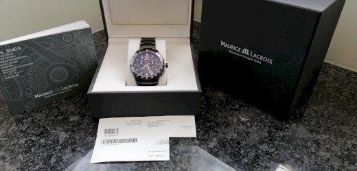 Maurice Lacroix Miros Chronograph PVD MI1028-SS002-SS002-330 - Gratisinserat.ch
