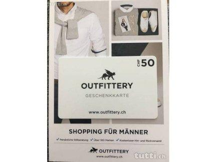 Outfittery Geschenkkarte Fr 50