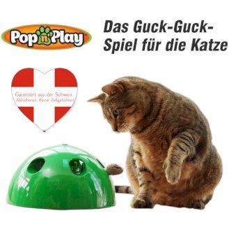 Pop Play Interaktives Katzenspielzeug Katzen Spielzeug Zuhause Unterhaltung bekannt TV Werbung - Gratisinserat.ch