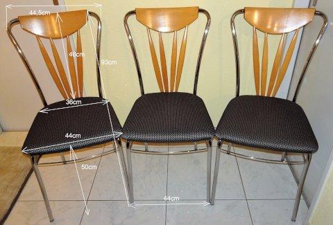 Sehr schöne Hochlehner Esstisch Stühle 6 Stk. - Gratisinserat.ch