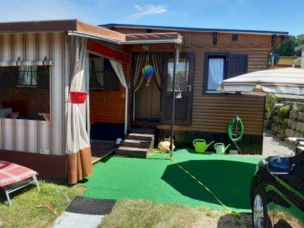 Mobilehome im Chaletstil auf Camping Chämihütte (Festplatz) - Gratisinserat.ch